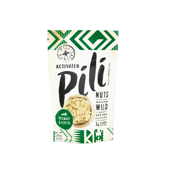 Rosemary and Olive Oil Pili Nuts by Pili Hunters - 1.85 oz