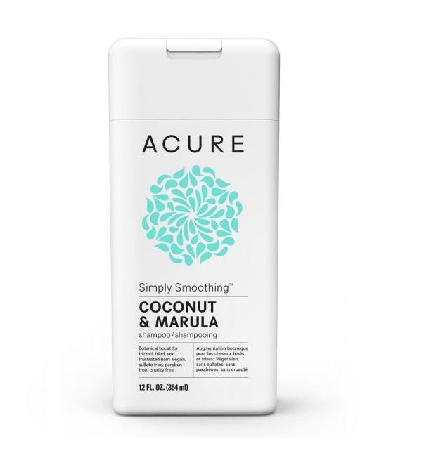 Simply Smoothing Coconut and Marula Oil Shampoo by ACURE