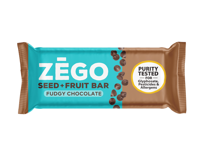 Seed+Fruit Chocolate Bar by ZEGO