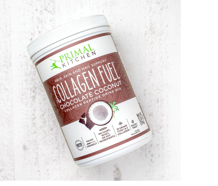 Chocolate Collagen Fuel Protein Shake by Primal Kitchen