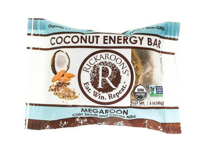 Megaroon Coconut Energy Bars by Rickaroons