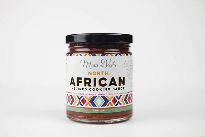 North African Inspired Cooking Sauce by Mesa de Vida