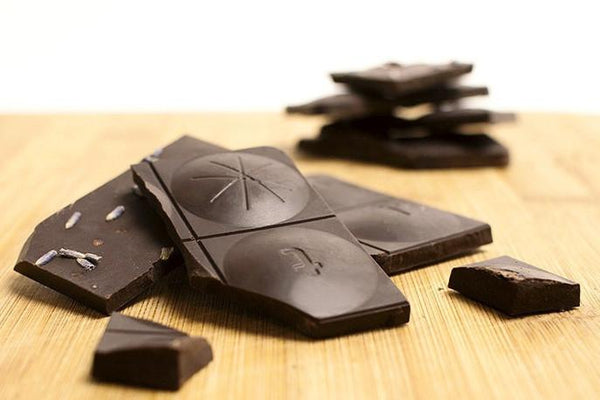 Panakeia 84% Bar with Lavender and Red Salt by Antidote Chocolate