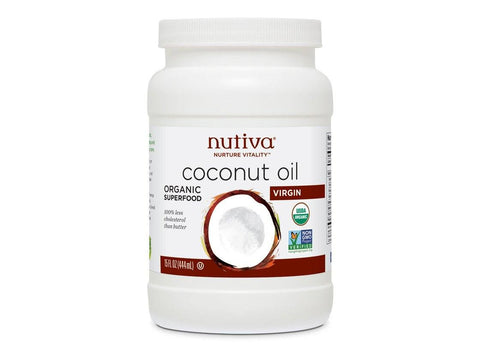 Organic Extra Virgin Coconut Oil, 15 oz by Nutiva