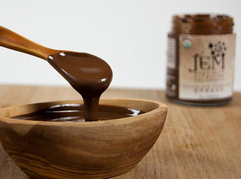 Organic Chocolate Hazelnut Spread by Jem Raw Chocolate