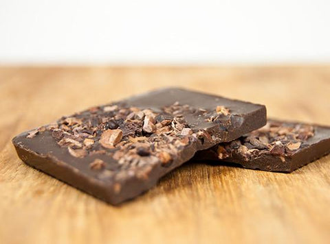 Aztec Crunch Handcrafted Raw Organic Chocolate by Lulu's