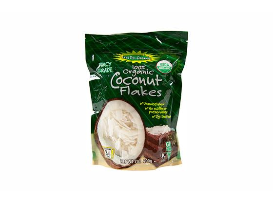 Organic Coconut Flakes by Let's Do Organic