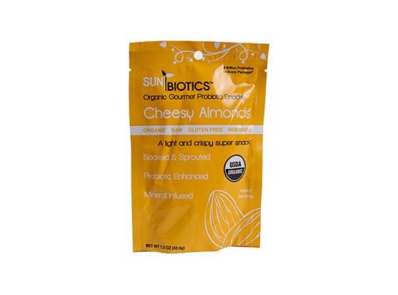 Organic Cheesy Almonds by Sunbiotics