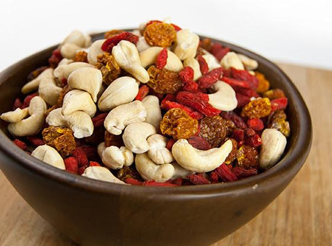 Raw Organic Berry Adventure Snack Mix by Sunfood
