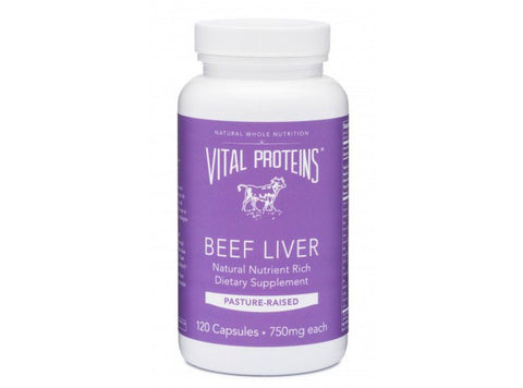Grass-Fed Beef Liver Capsules by Vital Proteins