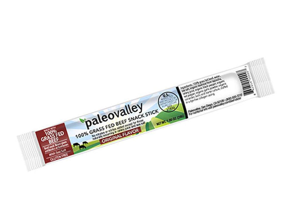 100% Grass-Fed Beef Snack Sticks by Paleovalley