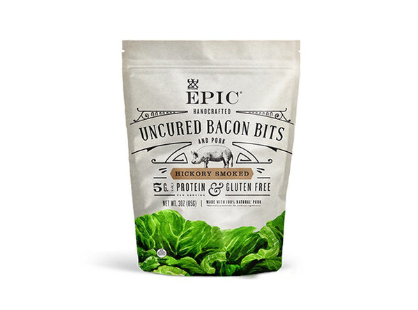 Uncured Hickory Bacon Bits by Epic