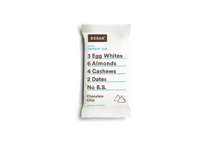 Chocolate Chip Protein Bar by RXBAR