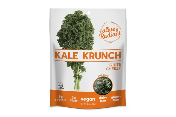 Organic Cheezy Kale Krunch by Alive and Radiant Foods