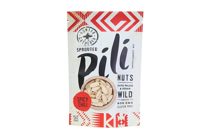 Spicy Chili Pili Nuts by Hunter Gatherer Foods - 1.85 oz