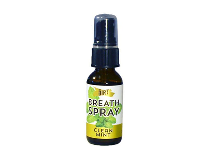 Clean Mint Breath Spray by The Dirt