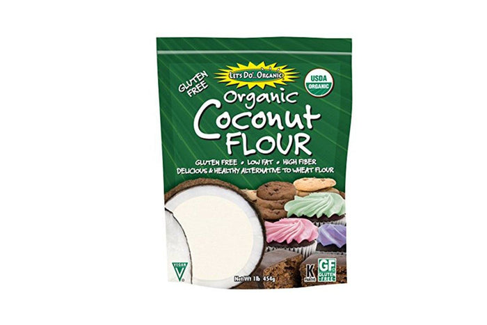Organic Coconut Flour by Let's Do Organic