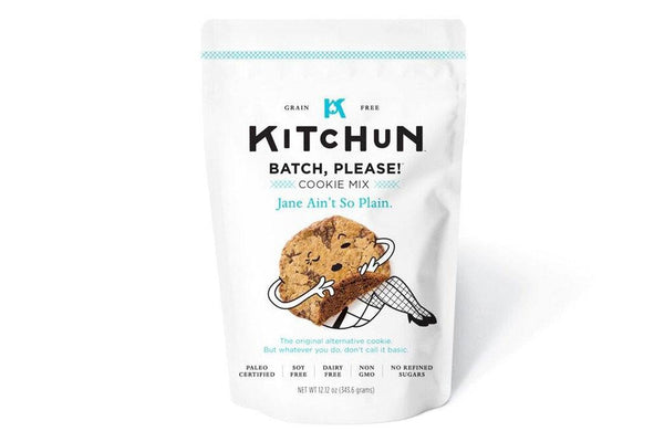 Jane Ain't So Plain Cookie Mix by Kitchun