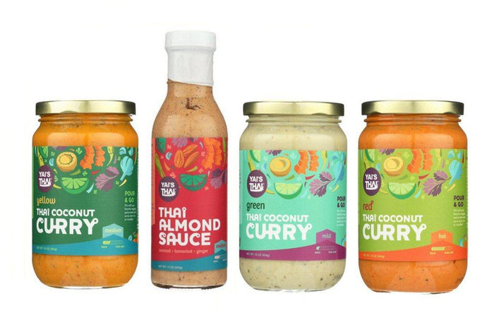 Yai's Thai Whole30 Cooking Sauce Sampler Pack
