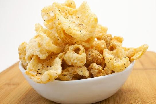 Salt & Pepper Galactic Pastured Hog Skins - Paleo Pork Rinds