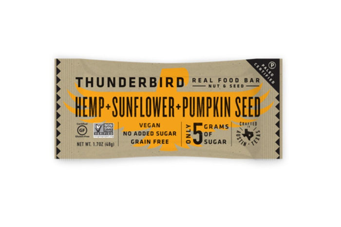 Hemp Sunflower Pumpkin Bar by Thunderbird