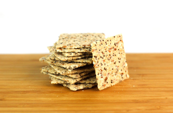 Tuscan Crackers with Italian Herbs by Jilz Gluten Free