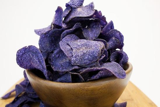 Purple Heirloom Sea Salt Potato Chips by Jackson's Honest Chips