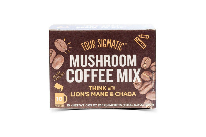 Mushroom Coffee with Lion's Mane and Chaga by Four Sigmatic
