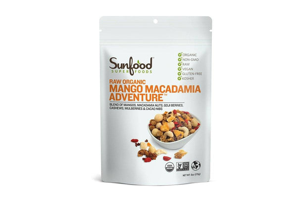 Mango Macadamia Adventure by Sunfood