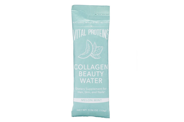 Melon Mint Collagen Beauty Water Sticks, Single Stick by Vital Proteins