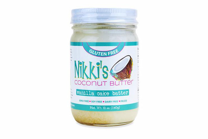Vanilla Cake Batter Coconut Butter by Nikki's