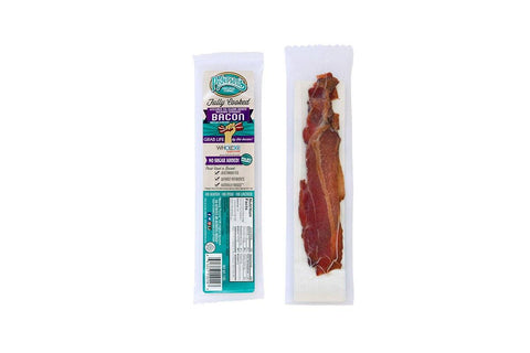 Hickory Smoked Bacon Snack Pack, Fully Cooked, by Pederson's Natural Farms