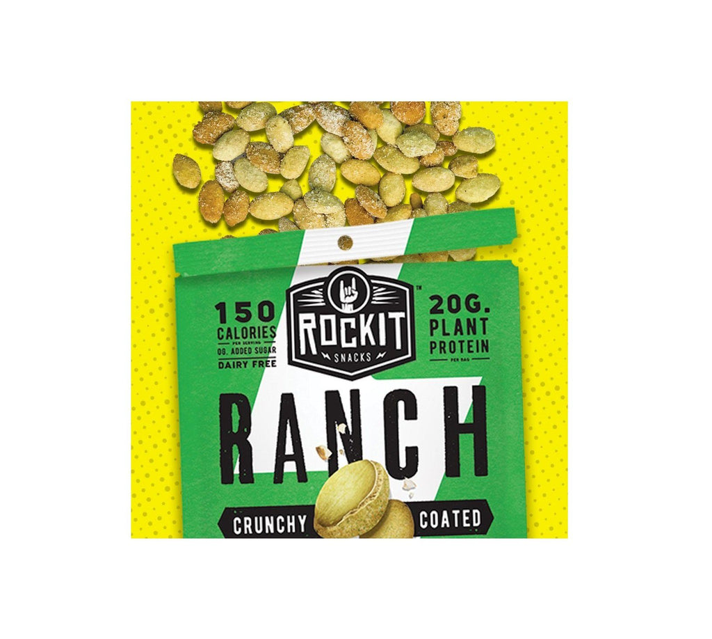 Crunchy Coated Pumpkin Seeds, Sampler by RockIt Snacks