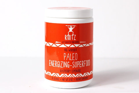 Raspberry Lemonade Paleo Energizing-Superfood by Rootz Nutrition