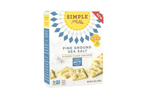 Sea Salt Almond Flour Crackers by Simple Mills