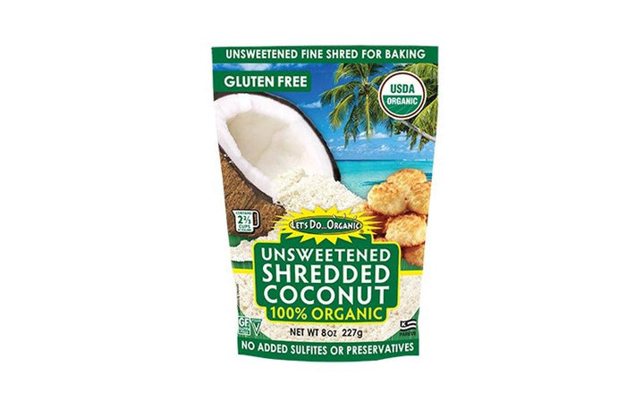 Organic Shredded Coconut by Let's Do Organic