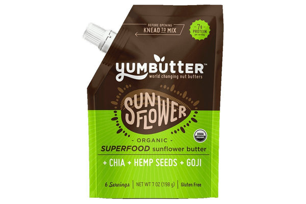 Superfood Organic Sunflower Butter Go by YumButter