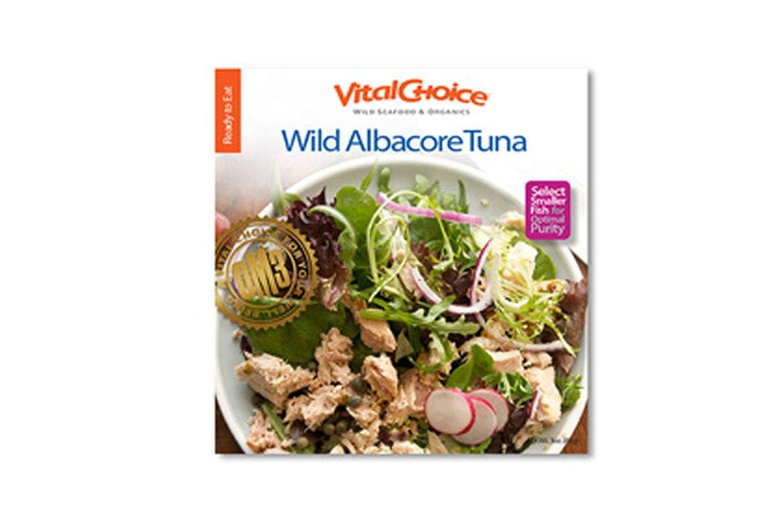 Wild Albacore Tuna with Sea Salt (in Pouch) by Vital Choice