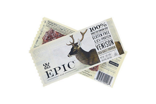 Venison Sea Salt and Pepper EPIC Bar by EPIC