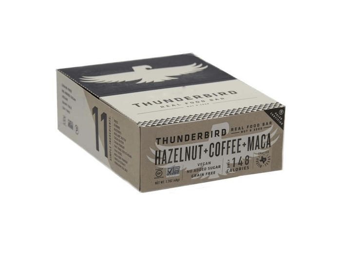 Coffee Hazelnut Maca Bars (box of 15) by Thunderbird