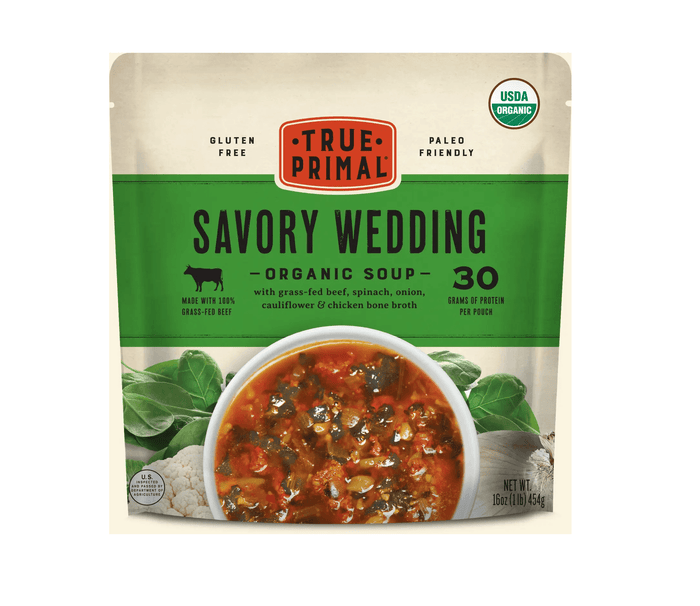 Savory Wedding Organic Soup by True Primal