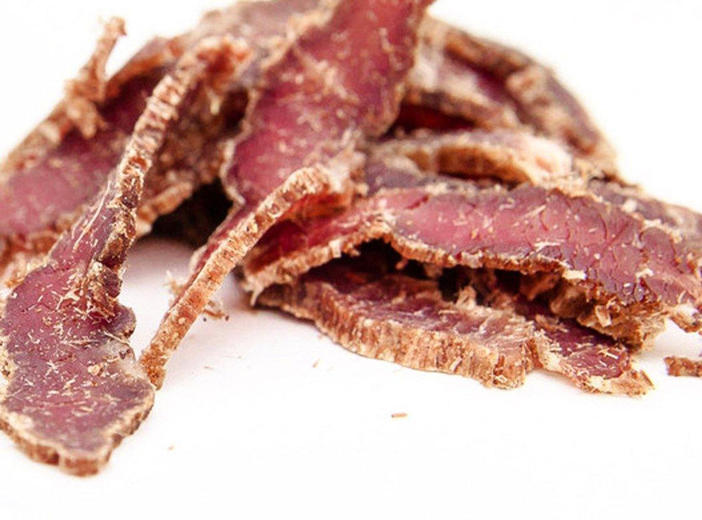 Lemon Peppered Dried Beef by Brooklyn Biltong