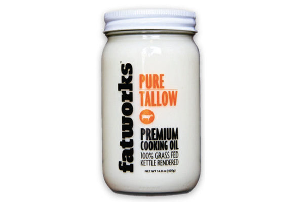 Grass-Fed Beef Tallow by Fatworks