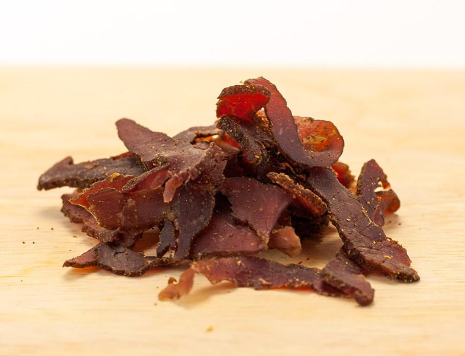 Biltong Seasoned Dried Beef by Brooklyn Biltong