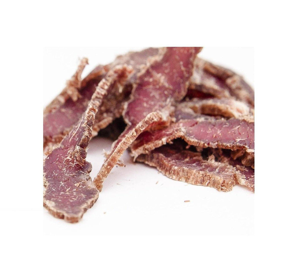 Joburg Steakhouse Seasoned Dried Beef by Brooklyn Biltong