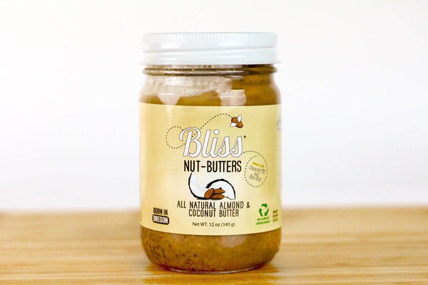 Coconut Almond Butter with Sea Salt by Bliss Nut Butter