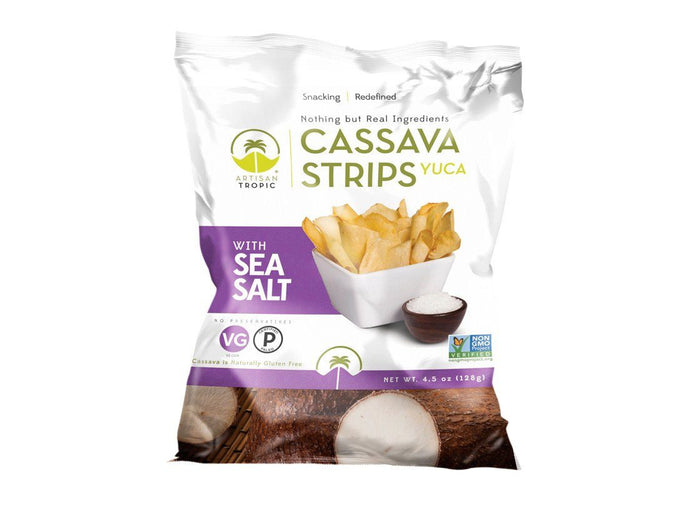 Sea Salt Cassava Strips, 4.5 oz by Artisan Tropic