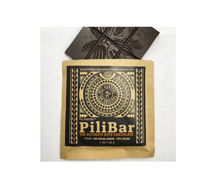 Ultimate Keto Dark Chocolate PiliBar by Pili Hunters