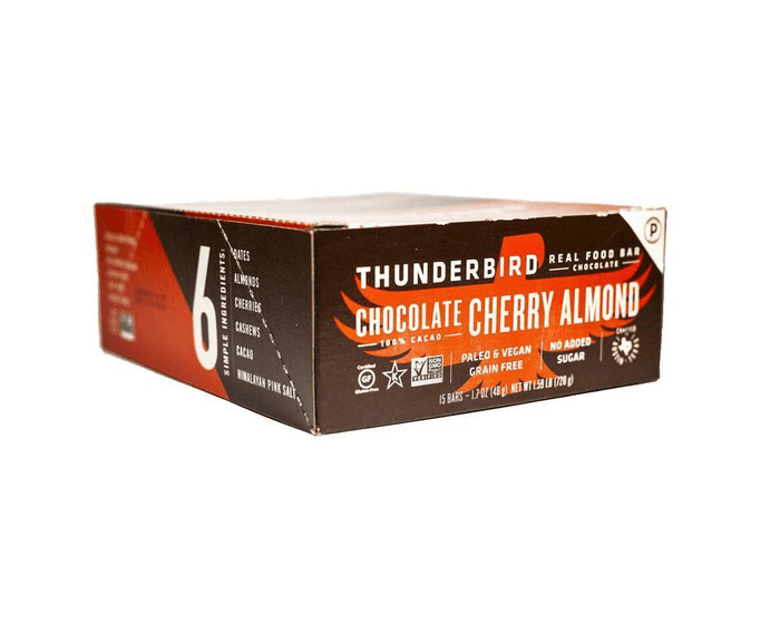 Chocolate Cherry Almond Bars (box of 15) by Thunderbird