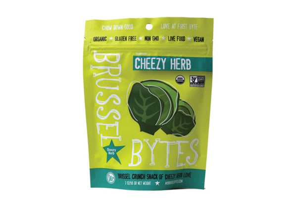 Organic Cheezy Herb Truffle Snip Chips by Wonderfully Raw